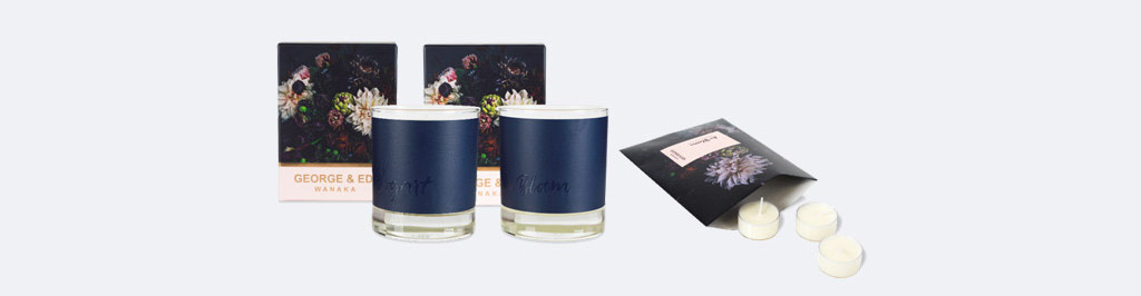 GEORGE & EDI Candles - The Darker Side