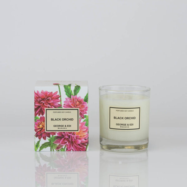 Black Orchid Soy Candle - GEORGE & EDI