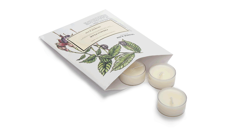 Soy Tealight Candles NZ George & Edi - Classic Range Fragrances