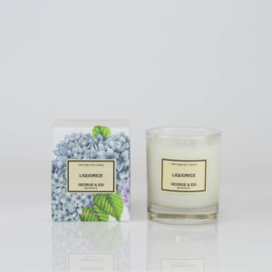 Liquorice Soy Candle - GEORGE & EDI