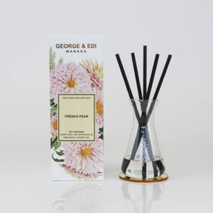 GEORGE & EDI French Pear reed diffuser set New Zealand