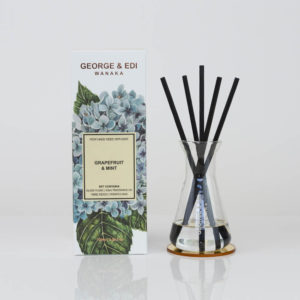 GEORGE & EDI Graoefruit & Mint reed diffuser set New Zealand