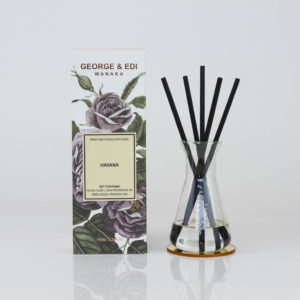 GEORGE & EDI Havana reed diffuser set New Zealand