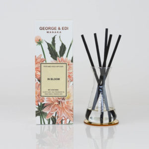 GEORGE & EDI In Bloom reed diffuser set New Zealand