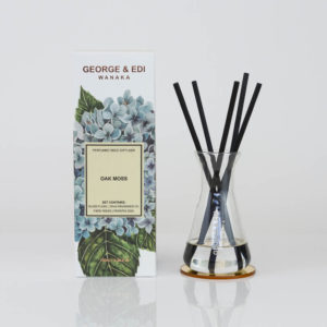 GEORGE & EDI Oak Moss reed diffuser set New Zealand