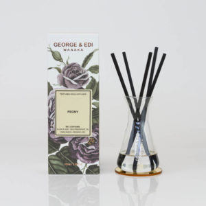 GEORGE & EDI peony reed diffuser set New Zealand