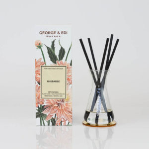 GEORGE & EDI rhubarbe reed diffuser set New Zealand