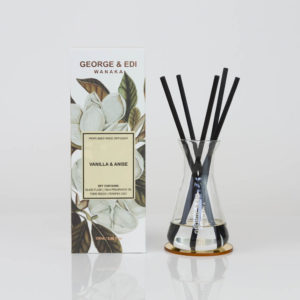 GEORGE & EDI vanilla and anise reed diffuser set new zealand