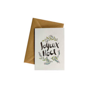 Joyeux Noel Card - Little Difference Queenstown